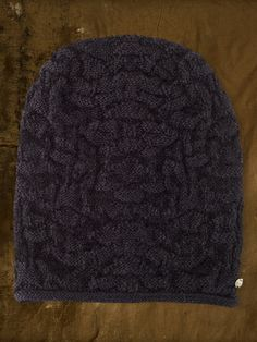 66af07186c7 Scoop up our Ralph Lauren Denim   Supply Textured-Knit Beanie for anyone  still left on your list
