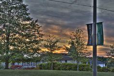 Ideas start here, University of Waterloo, Sunset by niikos, via Flickr