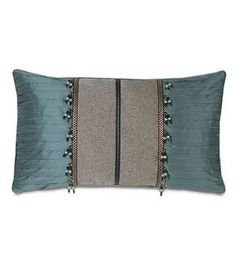 Sewing Cushions Dunaway Umber Bolster from Eastern Accents -