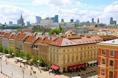 Varsóvia, a capital da Polônia Portugal, Czech Republic, Dolores Park, Places To Visit, Travel, Old Town, Real Castles, Summer Travel, Internal Courtyard