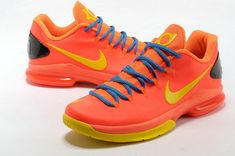 outlet store 665a8 8ed58 Nike KD V Elite Team Orange Bright Citrus Kevin Durant Shoes, Kevin Durant  Basketball Shoes