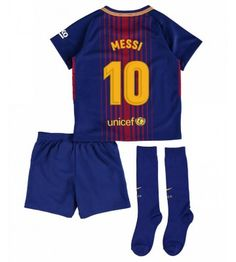 Nike Barcelona Home Mini Kit (Pique Messi 10, Lionel Messi, Barcelona, Soccer Shop, Neymar Jr, Real Madrid, Rompers, Swimwear, Online Shopping