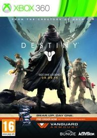 Destiny Vanguard Edition Game PLEASE NOTE This game is online only a requires a XBOX Live Subscription to play Preorder Destiny to gear up for day one with the Vanguard Edition complete with early access to the Vanguard Armoury we http://www.comparestoreprices.co.uk/january-2017-6/destiny-vanguard-edition-game.asp
