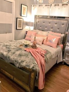 76 Cute Girls Bedroom Ideas for Small Rooms Dream Rooms, Dream Bedroom, Master Bedroom, Bedroom Girls, Trendy Bedroom, 60s Bedroom, Girl Bedroom Designs, Bedroom Dressers, Unique Teen Bedrooms