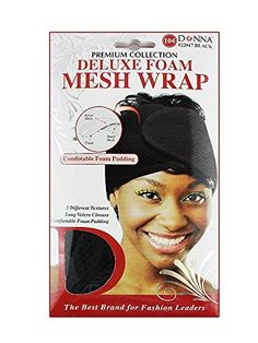Donnas Premium Deluxe Foam Mesh Wrap Comfortable Foam Padding Black ** Learn more by visiting the image link.