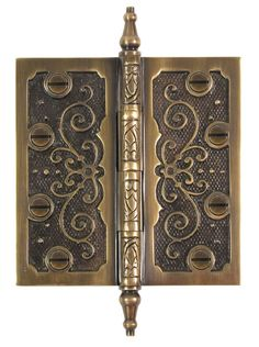 """Lacquered Polished Brass Door /& Window Hinge 3.5/"""" X 3.5/"""" Inch Architectural G..."""