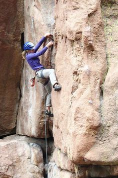 Climbing in the South Platte.