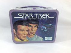Vintage 1979 Star Trek The Motion Picture Lunchbox without Thermos