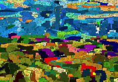 Studio Artist - Factory Settings - Mosaic Movie Brush - Graffiti5 Mosaic, Studio, Architecture, World, Artist, Painting, Arquitetura, Mosaics, Artists