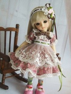 Blue Blood Doll - 1/6 bjd YSD girl doll outfits sets dress