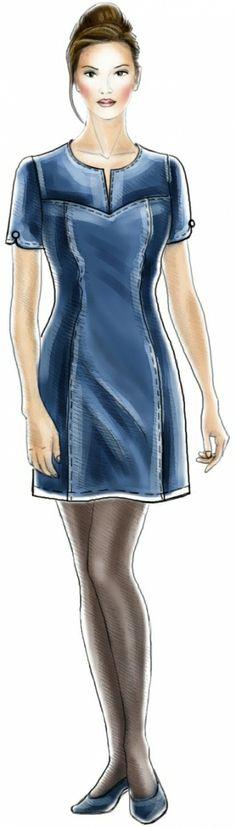 Vestido - Patrón de costura #5077