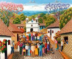Paisajes Hondureños al Óleo, Pedro Roberto Grandez
