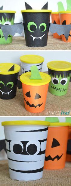 Halloween Cookie Cup