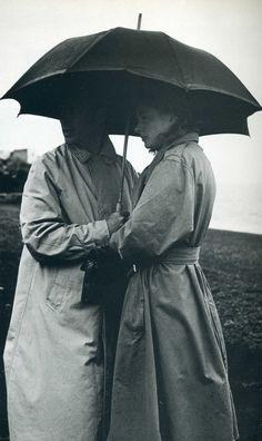 Under the umbrella Photo by Gordon Parks