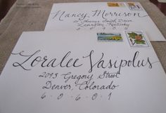 On list of things to learn: Calligraphy