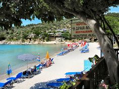 ALIKI BEACH. THASSOS. GREECE. #Greece