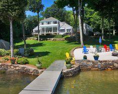 Waterfront Landscape Design, Pictures, Remodel, Decor and Ideas