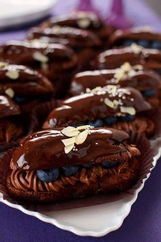 「チョコエクレア」JUNA   お菓子・パンのレシピや作り方【corecle*コレクル】