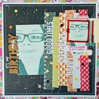 A Project by melissamann from our Scrapbooking Gallery originally submitted 08/02/13 at 10:43 AM