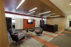 Reception/Looby inspiration: CSX Transportations Jacksonville Offices
