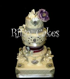 Five Tier Wedding Cakes | tier Princess wedding cake