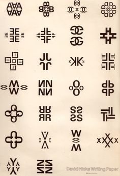 David Hicks Alphabet