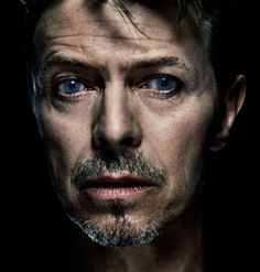 David Bowie - I have always been mesmerized by his mismatched pupils... an old injury, I think. LTM