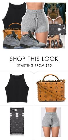 """"" by saditydej ❤ liked on Polyvore featuring MCM and NIKE"