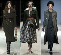 Coats for Fall-WInter 2016-2017 Military style