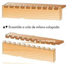 Tipos de ensamble: Conoce las distintas uniones entre madera