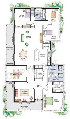 Kit homes for a narrow block, Paal Windsor Vintage House Plans, New House Plans, Dream House Plans, Small House Plans, House Floor Plans, Perth, Brisbane, Melbourne, Metal Building Homes