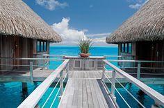 Hilton's Honeymoon Registry  Location: Hilton Bora Bora Nui Resort & Spa, French Polynesia