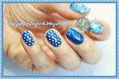 me, myself and my nails: Niebieska zadyma