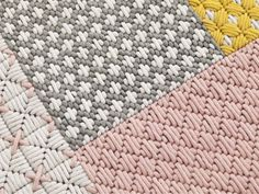 TAPIS FAIT MAIN RECTANGULAIRE EN TISSU COLLECTION SILAÏ BY GAN BY GANDIA BLASCO | DESIGN CHARLOTTE LANCELOT