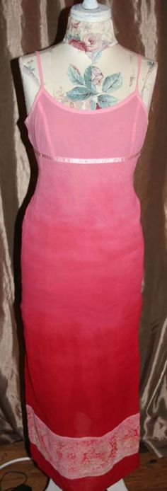 American Eagle Outfitters spaghetti strap Ombre dress size 2