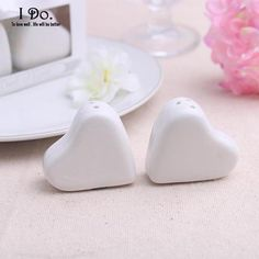 Free Shipping Heart Shaped Salt & Pepper Shaker Wedding Favors And Gifts For…