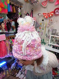 Sana's Knit Cap (Dog) / See more at http://www.cdjapan.co.jp/apparel/new_arrival.html?brand=BKD #harajuku
