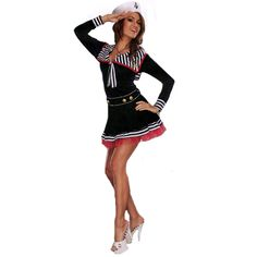 Costumes & Accessories Back To Search Resultsnovelty & Special Use Titivate Sexy High School Cheerleader Costume Girl Baseball Dance Cheer Girls Race Car Driver Uniform Party Wear New Varieties Are Introduced One After Another