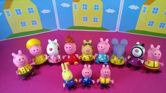 Peppa pig and her Friends Collection / Свинка Пеппа и ее друзья все фигурки