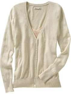 Cardigans - I have about 100 of these - all different colors, necklines and sleevelengths! LOVE 'EM!