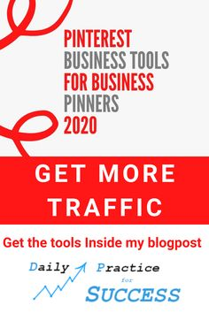 Looking for more traffic to your website or blog? Get my personal collected Pinterest toolbox for  business pinners to get more traffic. Get it now inside my blogpost. Search Engine Marketing, Seo Tools, Pinterest For Business, Marketing Tools, Toolbox, Growing Your Business, Affiliate Marketing, Success, How To Get