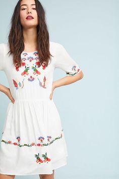 1: Garden Love Swing Dress $145. Rayon swing dress. Dry clean