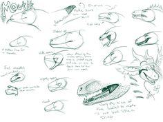 Dragon Mouth Tutorial by *Nakase on deviantART