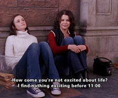 Gilmore Girls Quote : Laura and Rory
