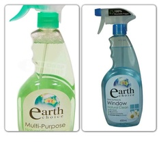 Earth Choice - perfect for 'Next To Nothing November' Natural Cleaning Products, Spray Bottle, Cruelty Free, Cleaning Supplies, Exploring, Household, November, Earth, Green