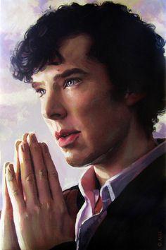 Sherlock fan-art <3