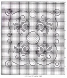 Gallery.ru / Фото #172 - 1 - KrestInna Filet Crochet, Rugs, Towels, Dogs, Doilies, Crochet Lace