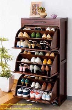 Shoe Racks And Organizers Four Sided Rotating Shoe Storage Organizerlazy Lee  Home