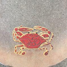 """Vintage Glass Lobster Platter 2"""" x 22 1/2"""" x 12"""""""