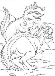 Dinosaurier 37 Ausmalbilder